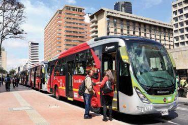 TRANSMILENIO estrenó 22 buses híbridos