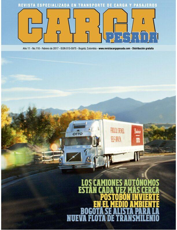 Revista Carga Pesada Edición 110 Febrero 2017