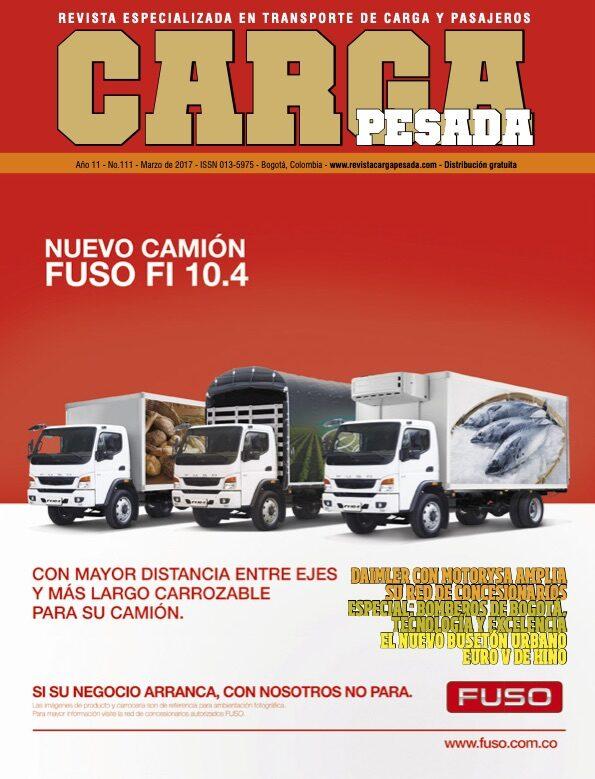 Revista Carga Pesada Edición 111 marzo 2017