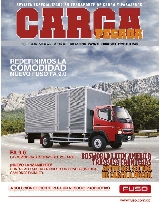 Revista Carga Pesada Edición 112 abril 2017