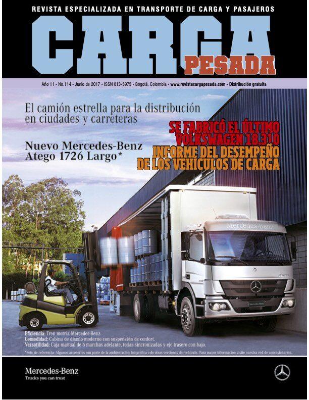 Revista Carga Pesada Edición 114 junio 2017
