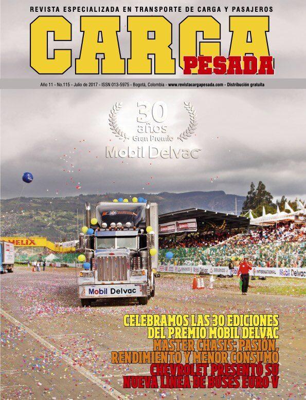 Revista Carga Pesada Edición 115 julio 2017