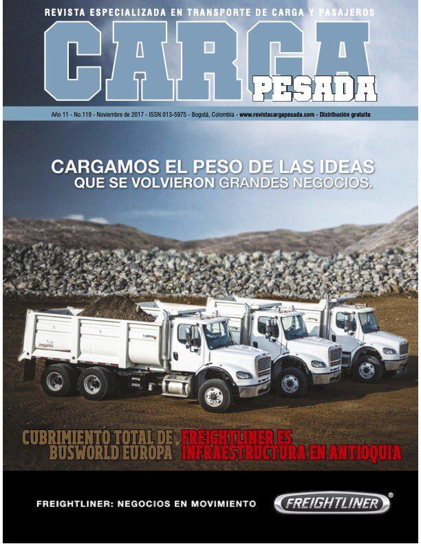 Revista Carga Pesada Edición 119 noviembre 2017