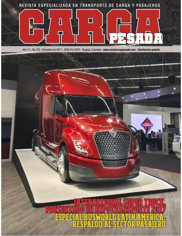 Revista Carga Pesada Edición 120 diciembre 2017