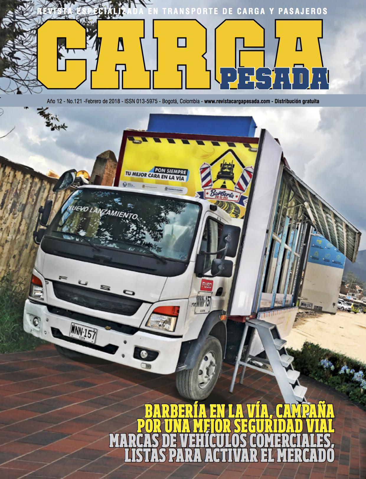 Revista carga pesada Edición 121, Febrero 2018
