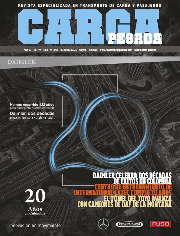 Revista carga pesada Edición 125, Junio 2018