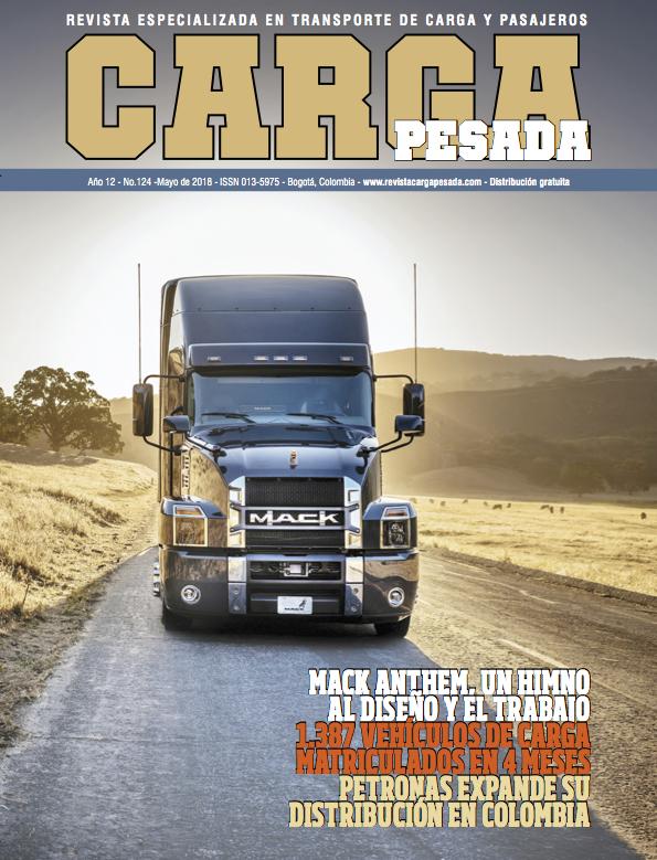 Revista carga pesada Edición 124, Mayo 2018