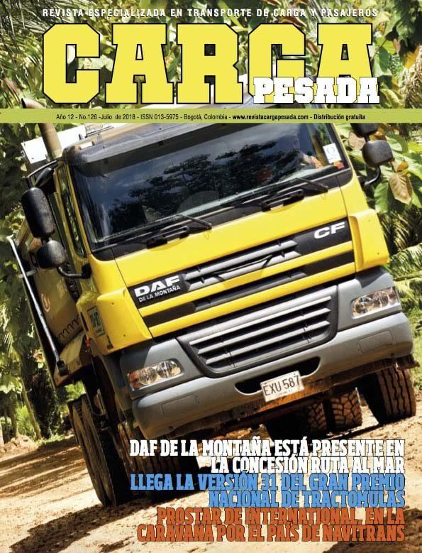 Revista carga pesada Edición 126, Julio 2018