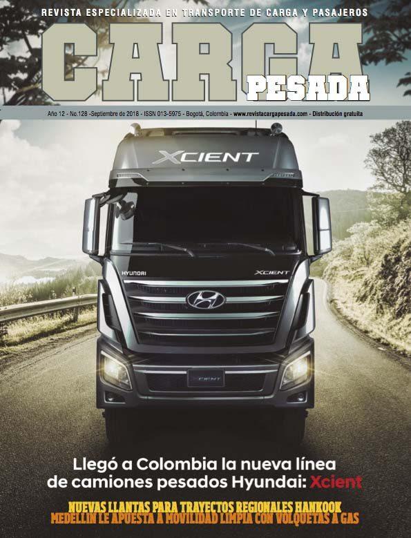 Revista carga pesada Edición 128 Septiembre 2018