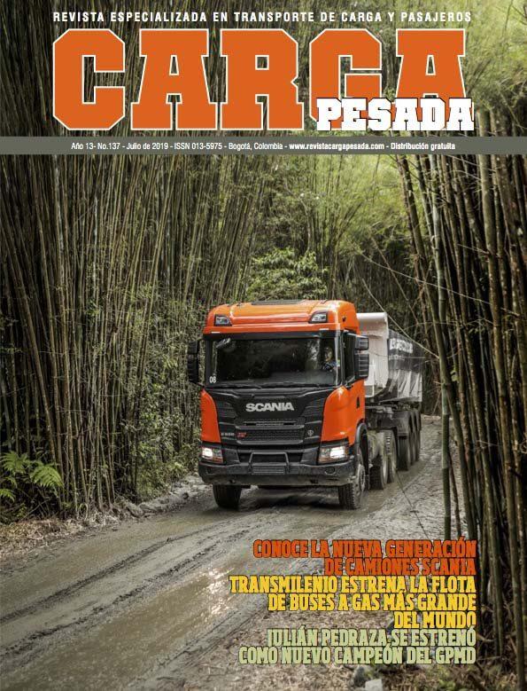 Revista Carga Pesada Edición 137 Julio 2019