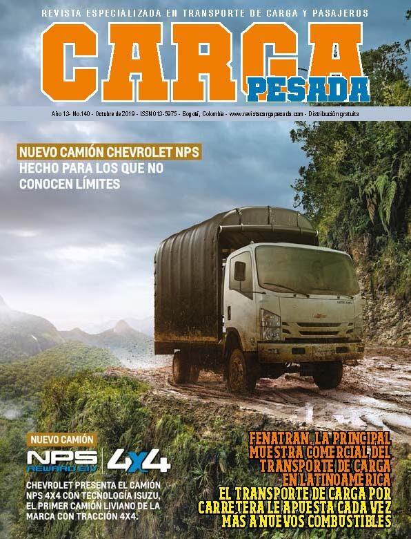 Revista Carga Pesada Edición 140 Octubre 2019