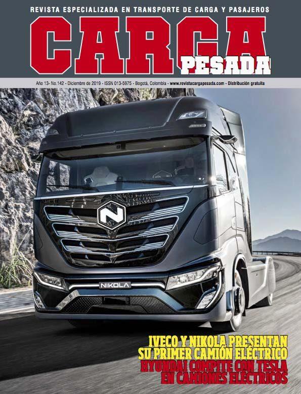 Revista Carga Pesada Edición 142 Diciembre 2019
