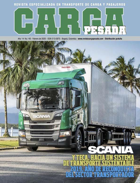 Revista Carga Pesada Edición 143 Febrero 2020