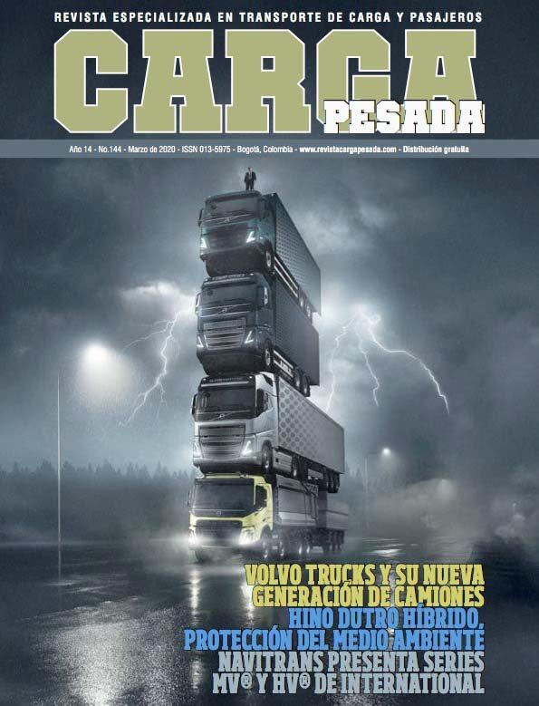 Revista Carga Pesada Edición 144 Marzo 2020