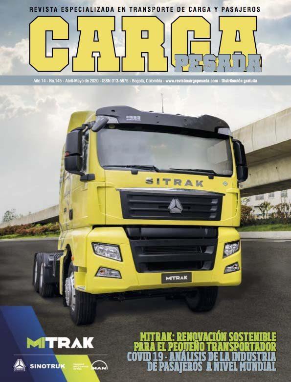Revista Carga Pesada Edición 145 Abril y Mayo 2020