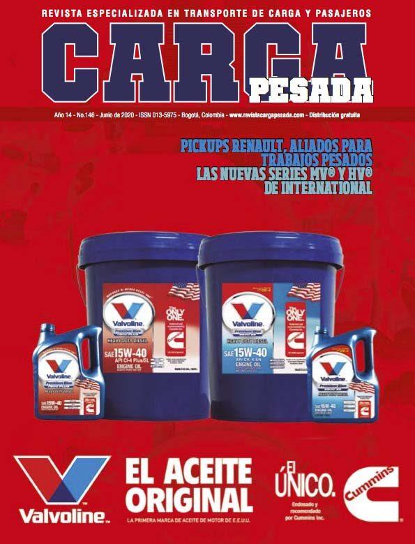 Revista Carga Pesada Edición 146 Junio 2020