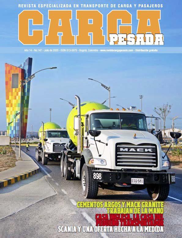 Revista Carga Pesada Edición 147 Julio 2020