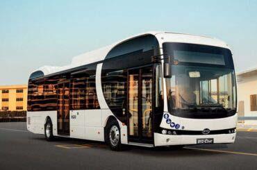 Crece presencia de buses eléctricos BYD en España