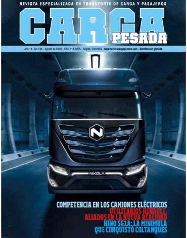 Revista Carga Pesada Edición 148 Agosto 2020