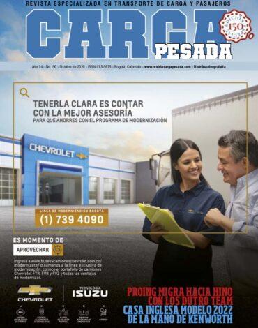 Revista Carga Pesada Edición 150 Octubre 2020