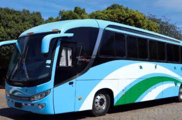 Mercedes-Benz y Comil envían autobús a Costa Rica