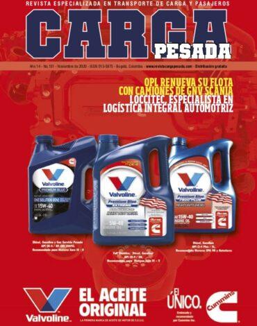 Revista Carga Pesada Edición 151 Noviembre 2020