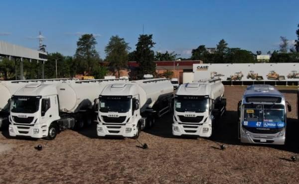 Importante entrega de flota IVECO en Paraguay