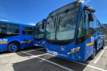 Inicia operación de 211 nuevos buses Euro VI para el SITP en el sur de Bogotá