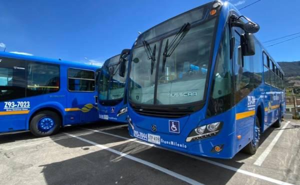 Conozca los 211 nuevos buses Euro VI del SITP en Bogotá