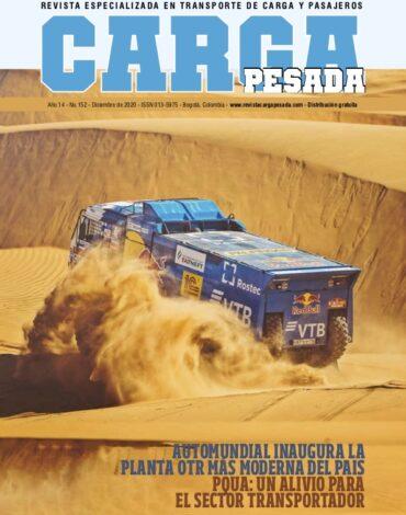 Revista Carga Pesada Edición 152 Diciembre 2020