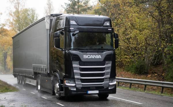 El Scania 540s ganador de las pruebas Punkte 1000