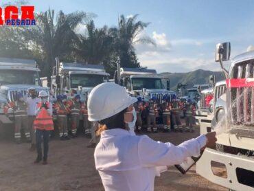 ¡Navitrans entrega 130 volquetas WorkStar a consorcio Ruta 40!