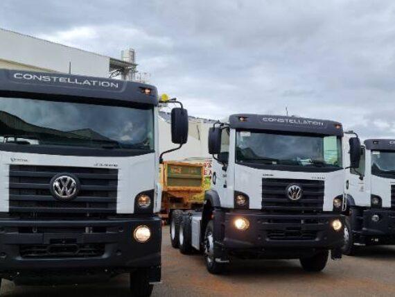 Volkswagen entrega primeras unidades del camión más potente de la línea Constellation