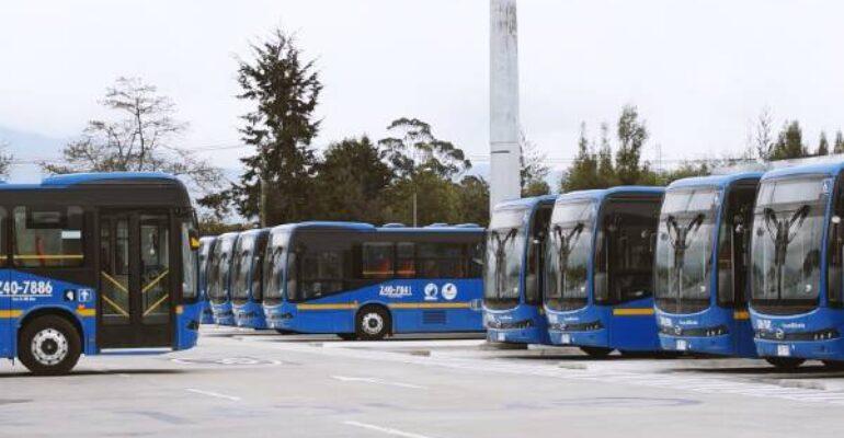Tercer patio 100% eléctrico y 91 buses cero emisiones de TransMilenio en Suba