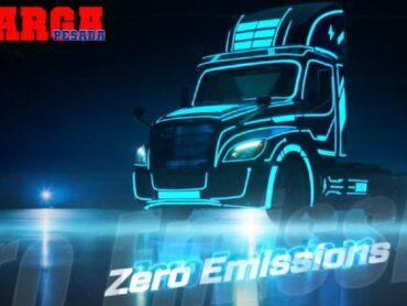 El poder del eCascadia de Freightliner