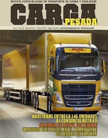 Revista Carga Pesada Edición 153 Febrero 2021