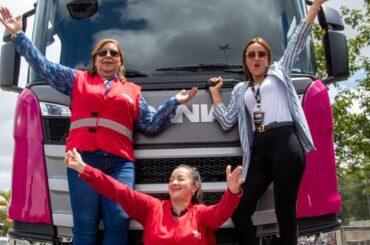 Scania promueve  el protagonismo femenino