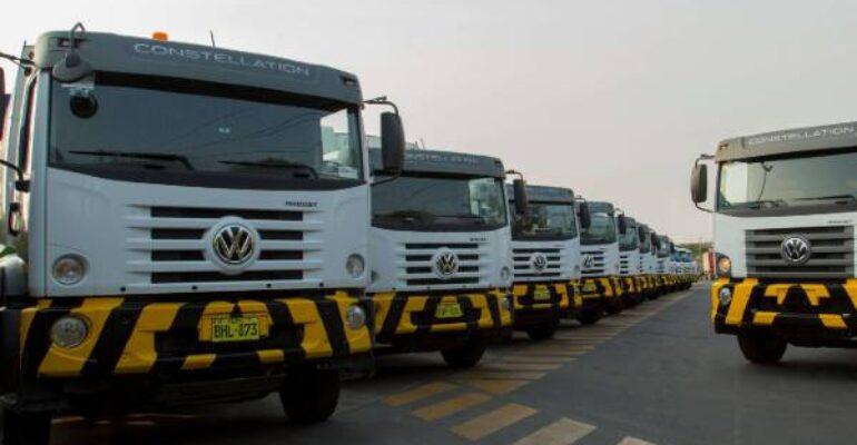 Solví renueva flota de limpieza con camiones Volkswagen