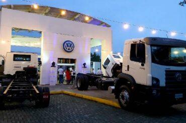 Nueva vitrana de VW Camiones y Buses en Ibagué