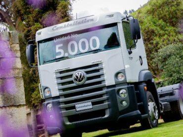 Volkswagen Camiones y Buses entregó la unidad 5.000 en Colombia