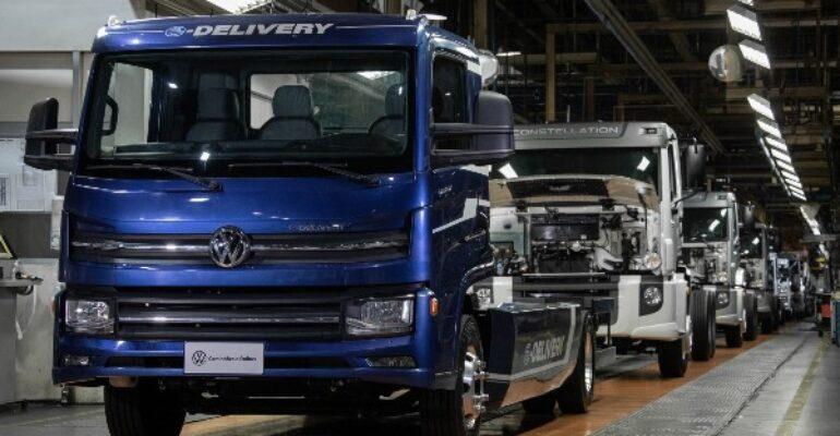 VW Caminhões e Ônibus inicia la producción del e-Delivery