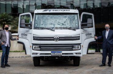¡Primer e-Delivery entregado por Volkswagen Caminhões e Ônibus!
