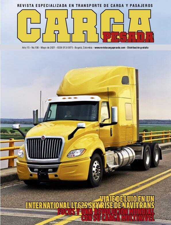 Revista Carga Pesada Edición 156 Mayo 2021