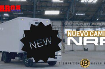 Y con ustedes: el nuevo camión NRR de Chevrolet