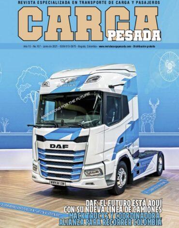 Revista Carga Pesada Edición 157 Junio 2021