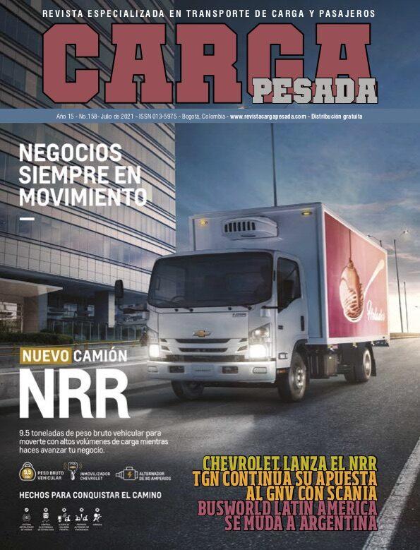 Revista Carga Pesada Edición 158 Julio 2021