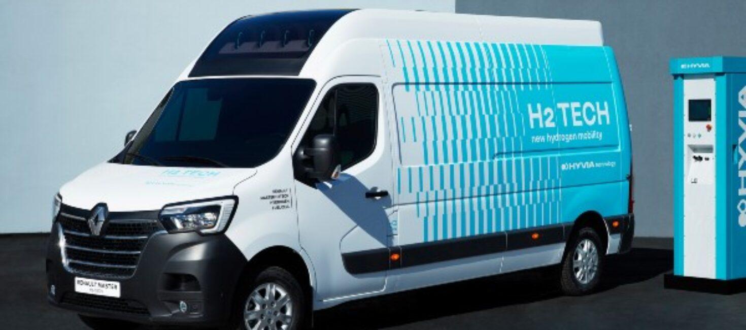 HYVIA presenta primeros prototipos de hidrógeno: Renault Master Van H2