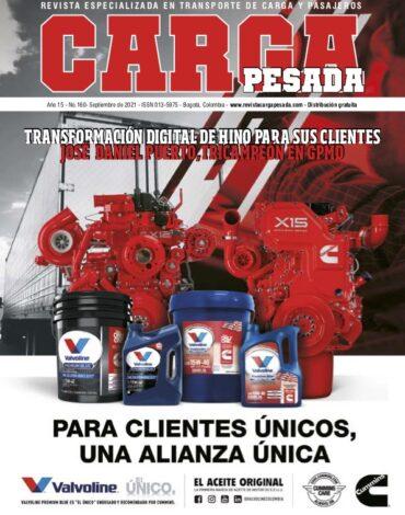 Revista Carga Pesada Edición 160 Septiembre 2021